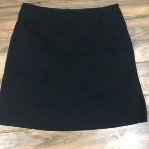 NWOT Nike black golf skort sz 8